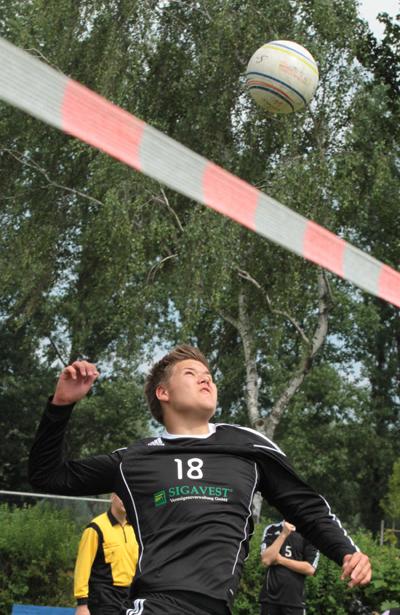 Lauritz Schubert macht gegen Gnutz seine Sache erneut gut. (Foto: Christian Kadgien)
