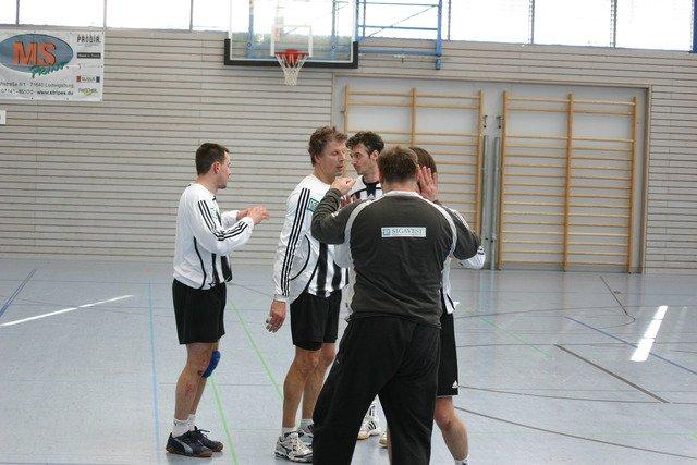 Freuten sich am Ende über Platz 5 - die Männer 35 des VfK 1901 (Bild: TSV Schwieberdingen)