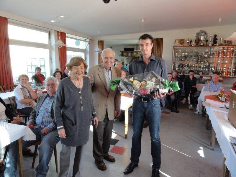 Ingeborg und Günther Stammnitz für 50 Jahre Mitgliedschaft