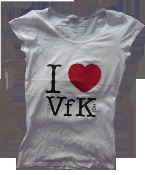 I love VfK 1901-Shirt