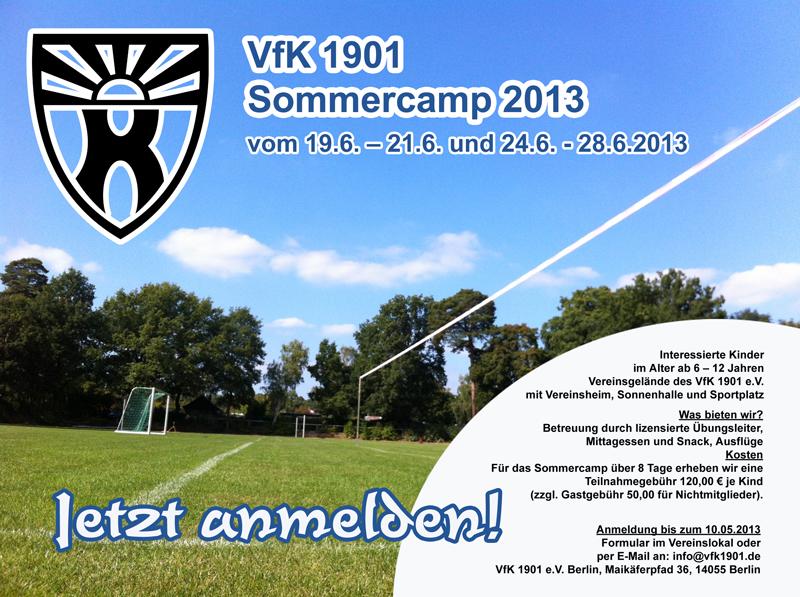 VfK Sommercamp 2013