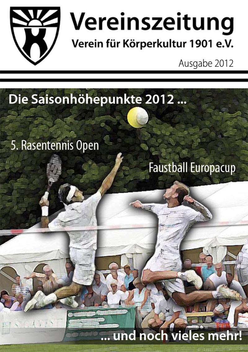 Vereinszeitung 01/2012